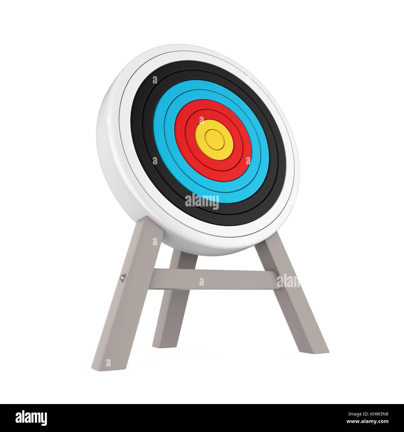 Archery Target Isolated Stock Photo 165894212 Alamy