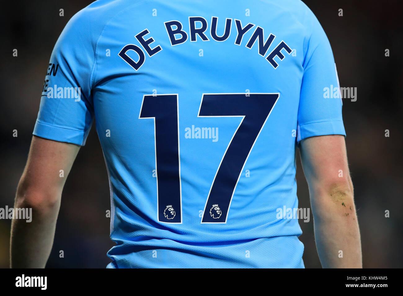 low priced e26e6 44a4a Manchester City's Kevin De Bruyne Stock Photo: 165894965 - Alamy