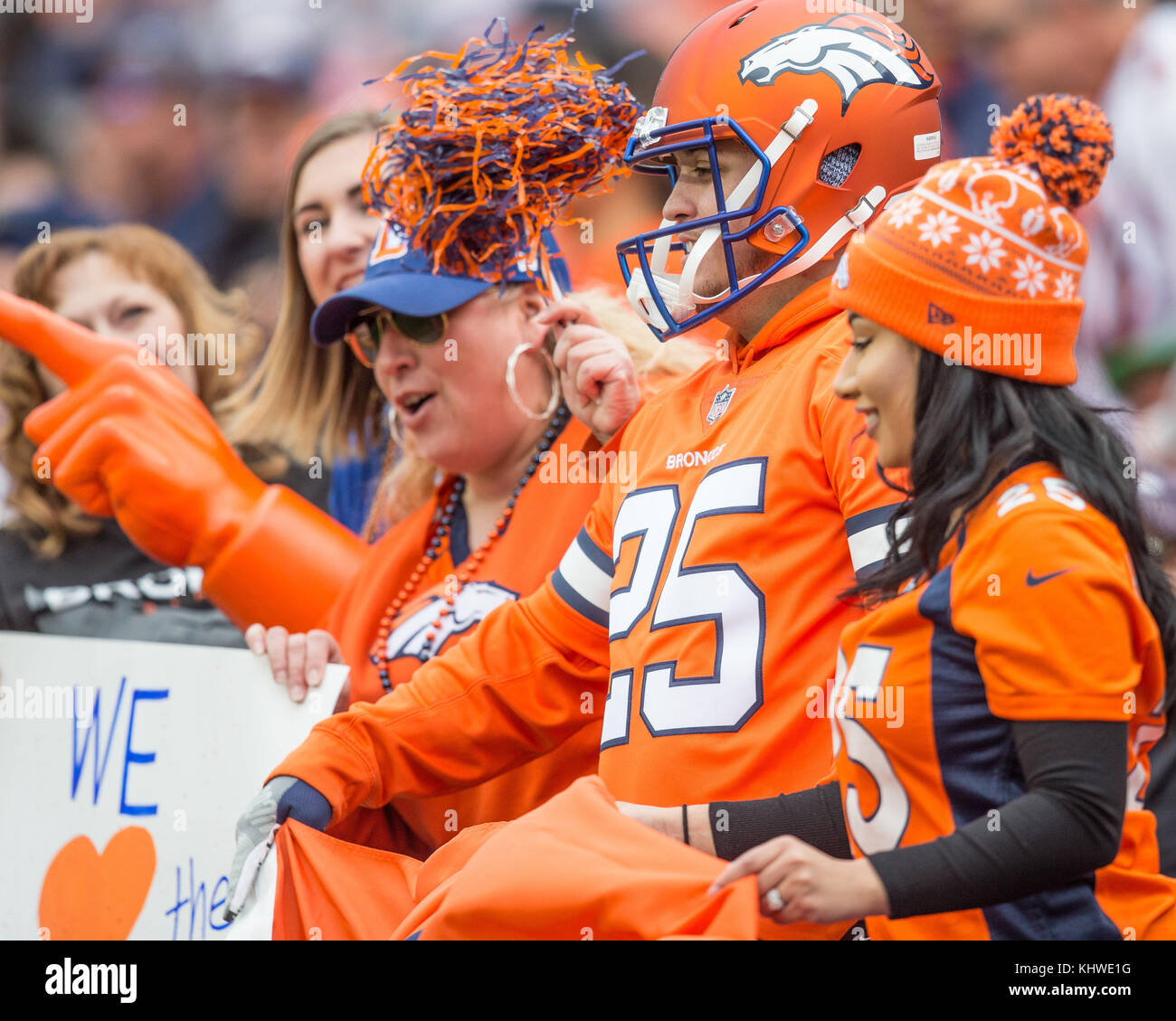 Cincinnati Bengals Fans During Nfl Stock Photos