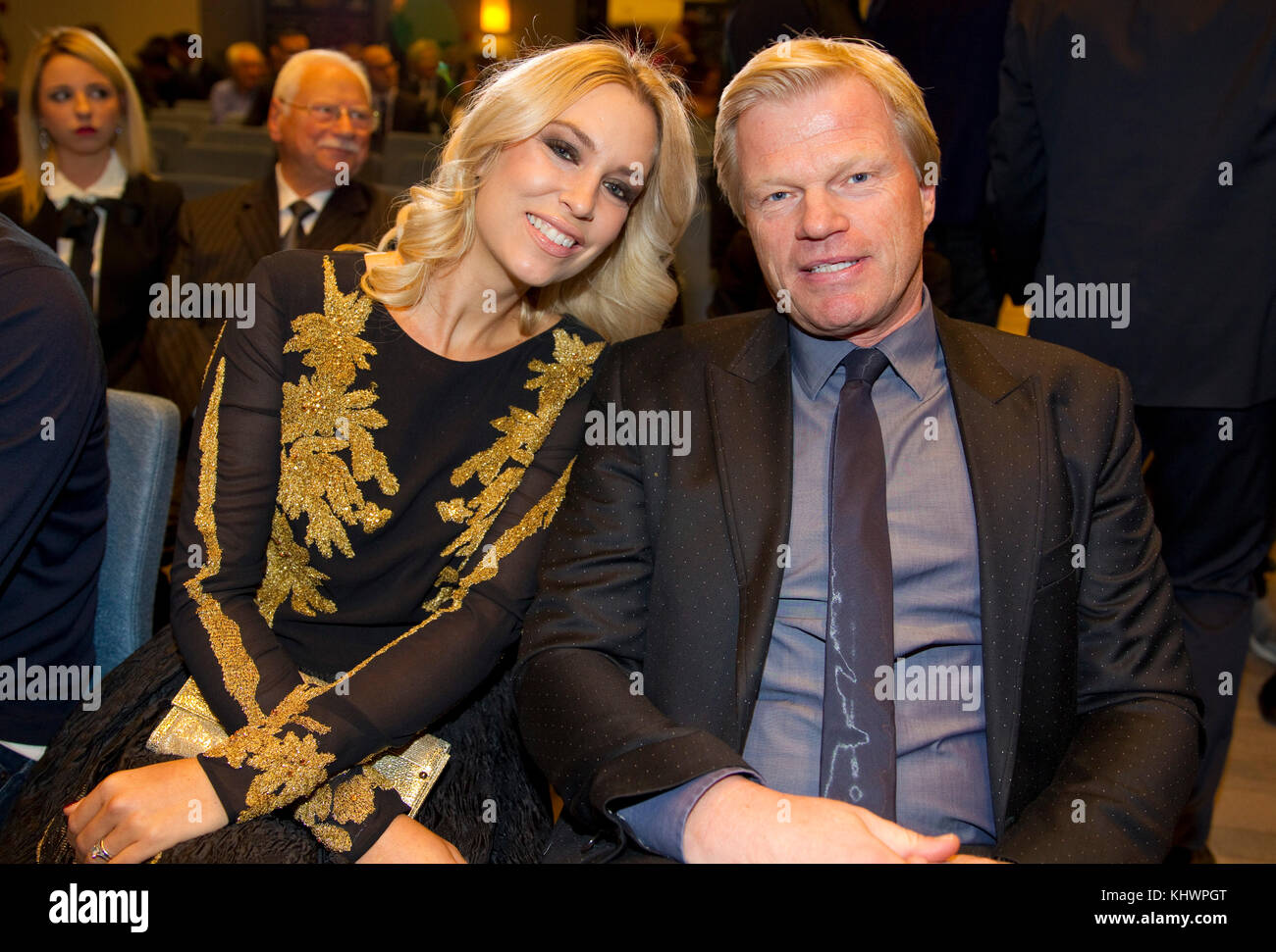 Monaco, Monte Carlo - November 07, 2017: Goldenfoot Hublot The Campions Promenade Award with Legend Award Winner - Stock Image