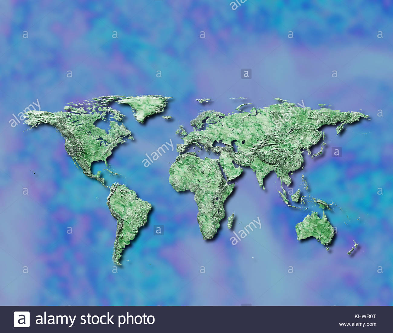 World map global globalization maps cartography worldwide geography continent international, earth - Stock Image