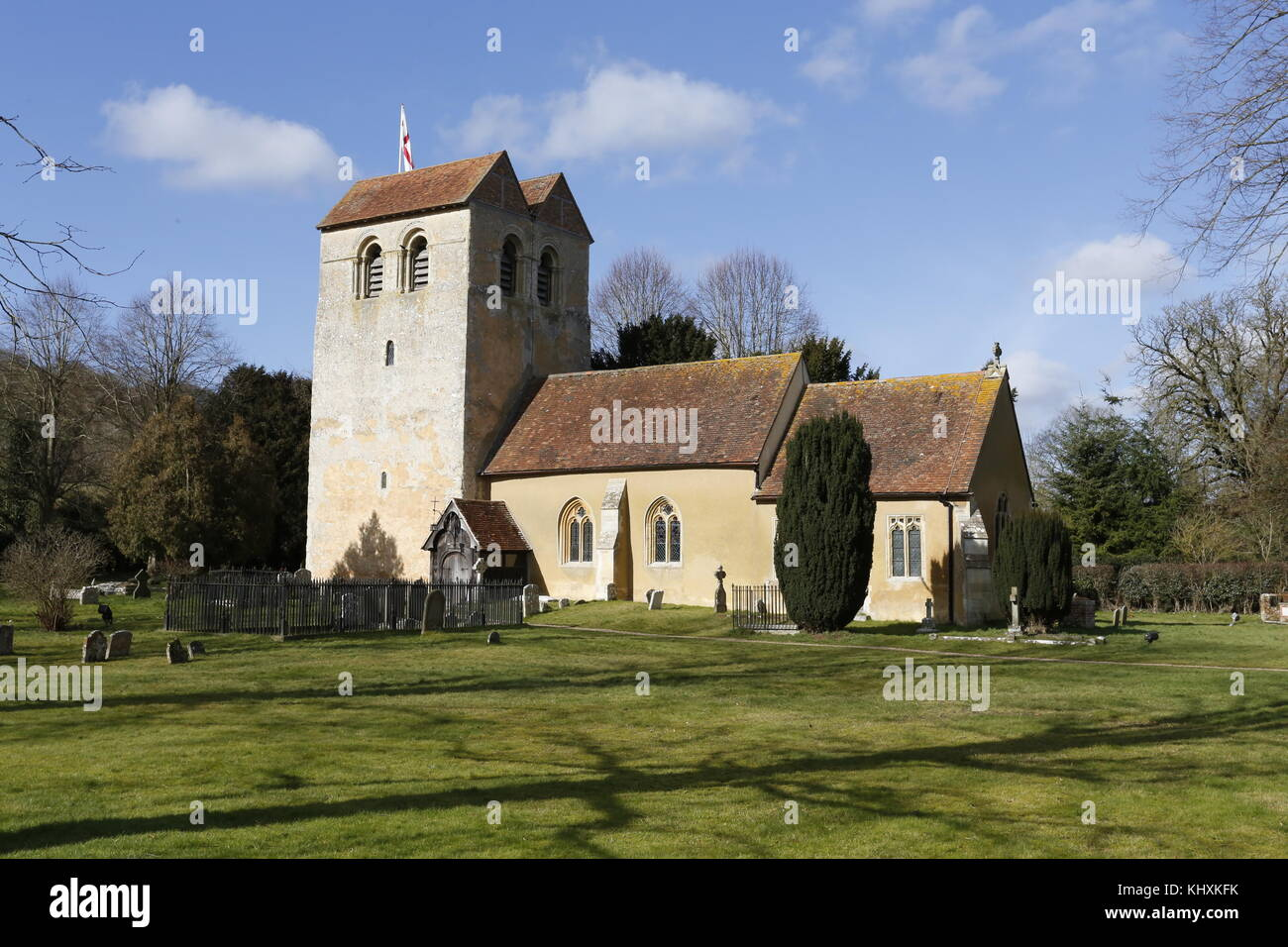 Saint Bartholomew Parish Church,Fingest ,Buckinghamshire. - Stock Image