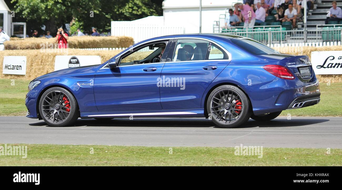 Mercedes Benz C63 Amg V8 Twin Turbo At The Goodwood Festival