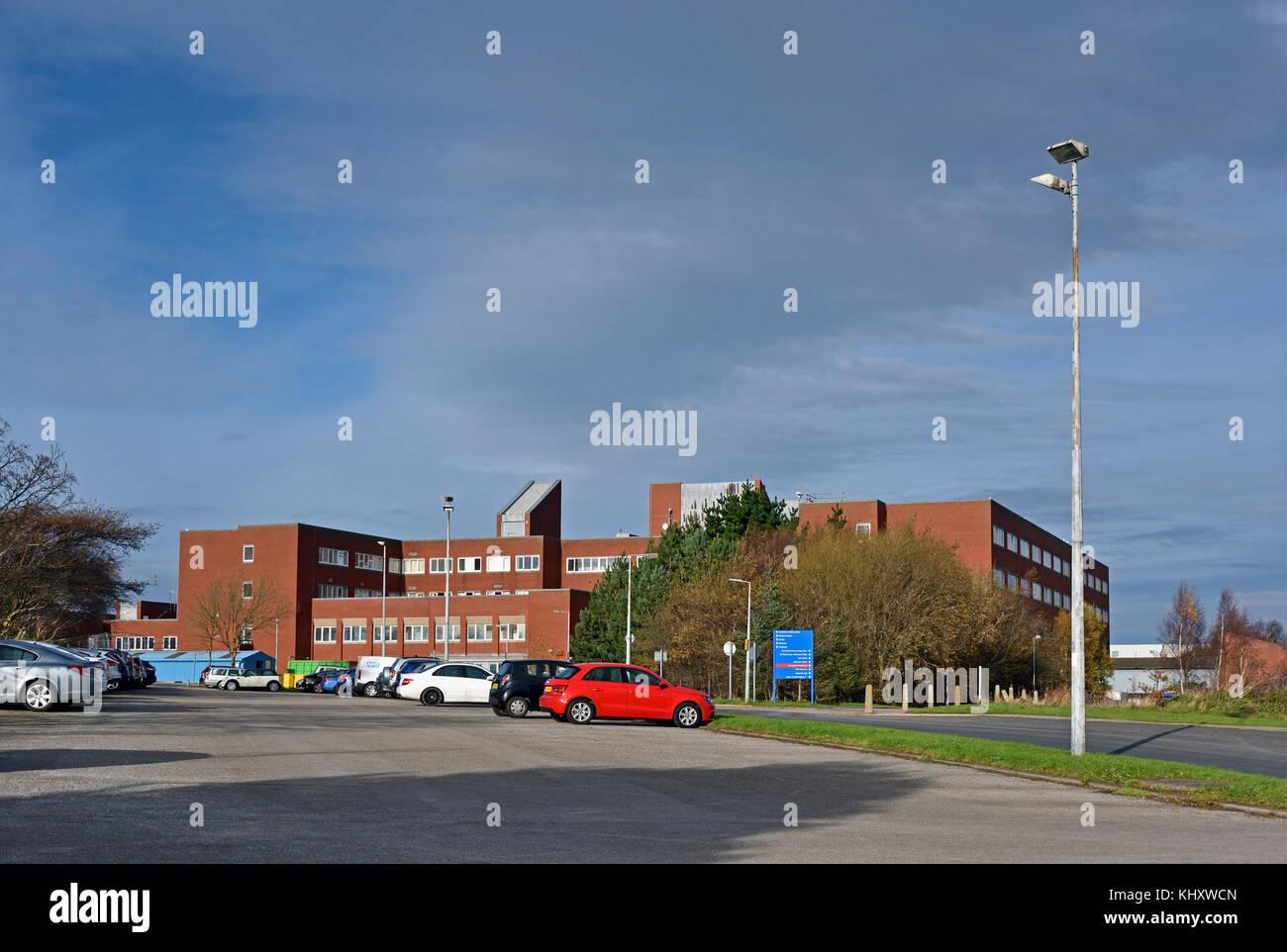 Furness General Hospital, Barrow-in-Furness, Cumbria, England, United Kingdom, Europe. - Stock Image