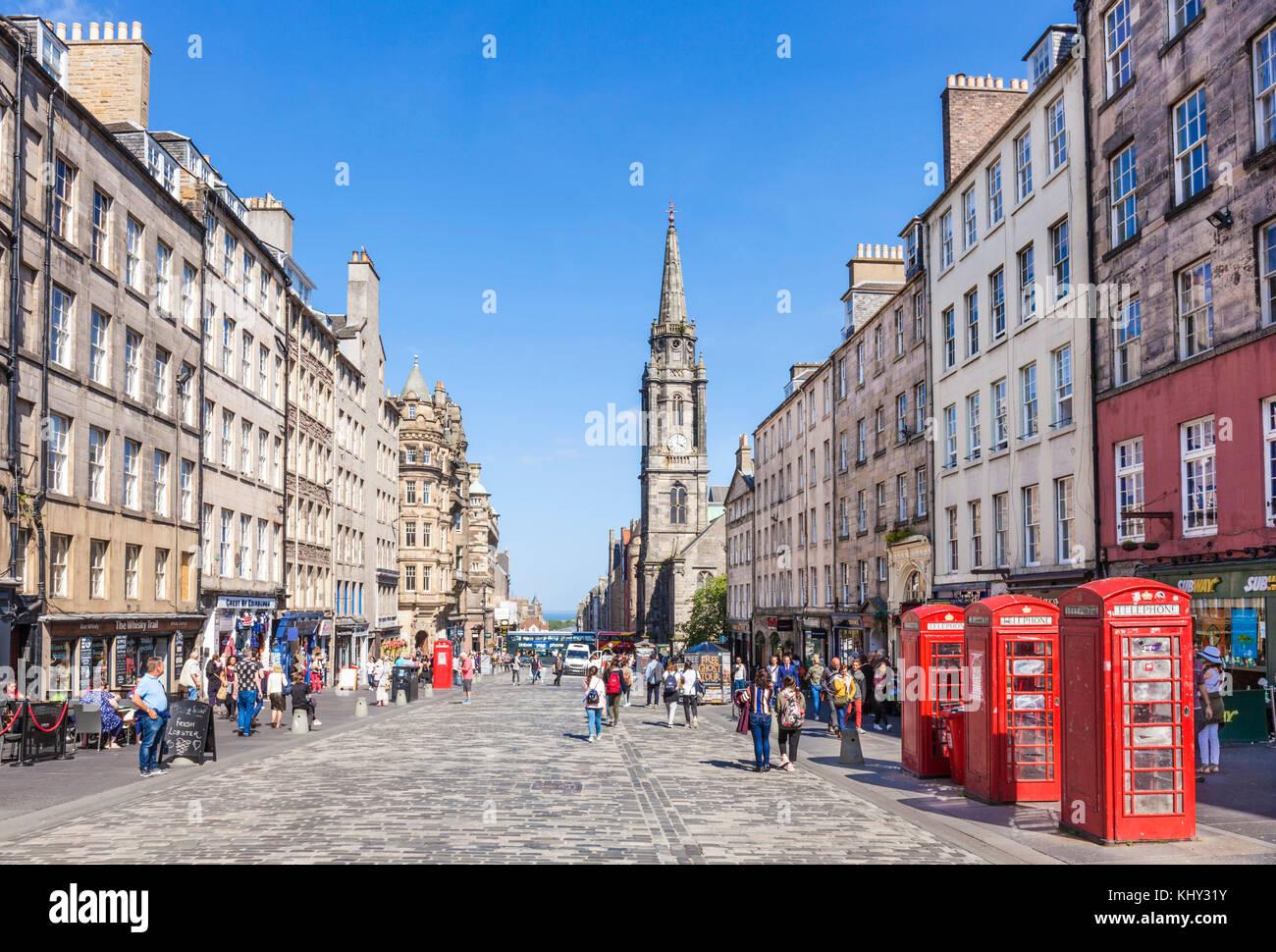 royal Mile edinburgh scotland edinburgh The High Street ...
