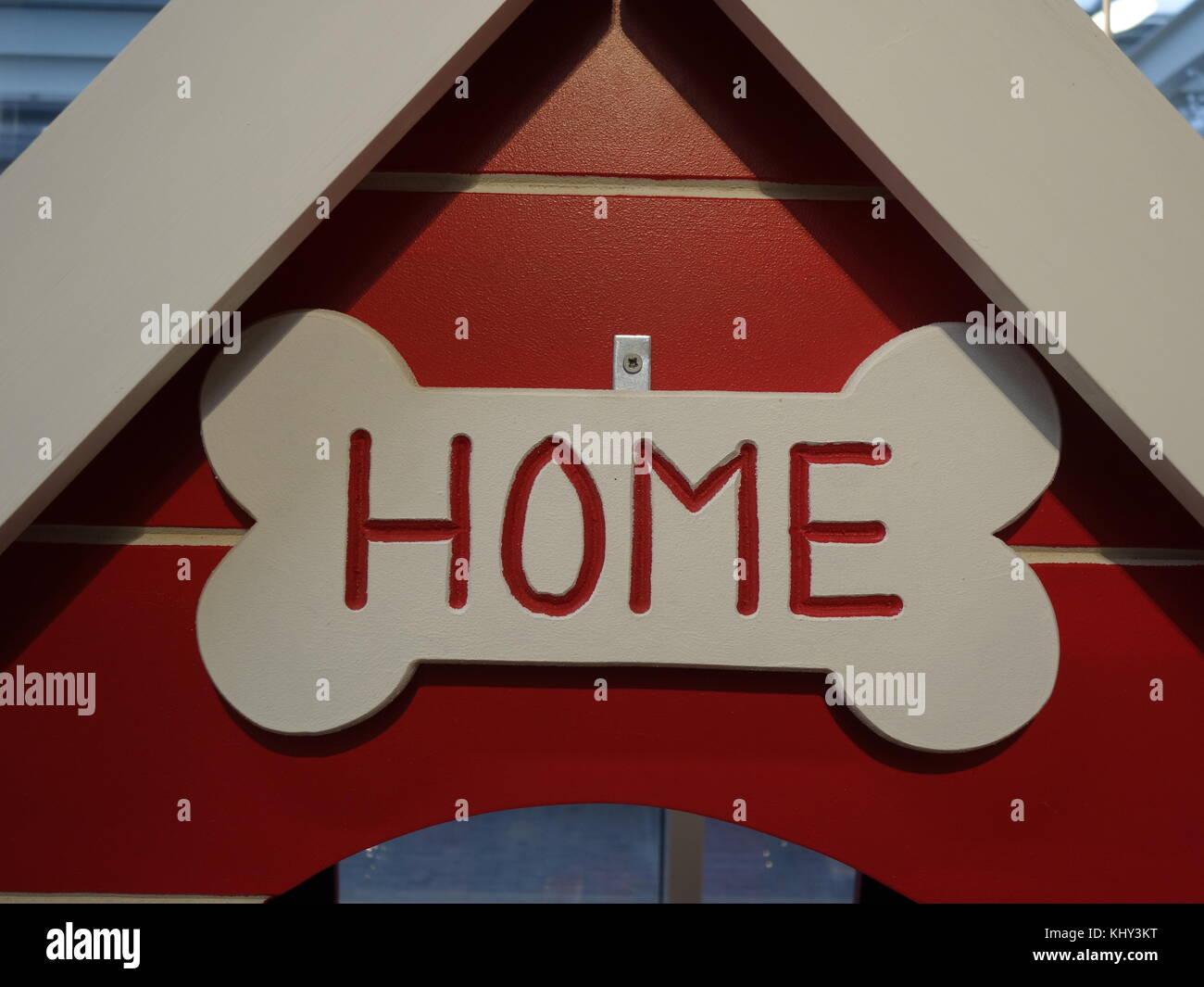 home sweet bone - Stock Image