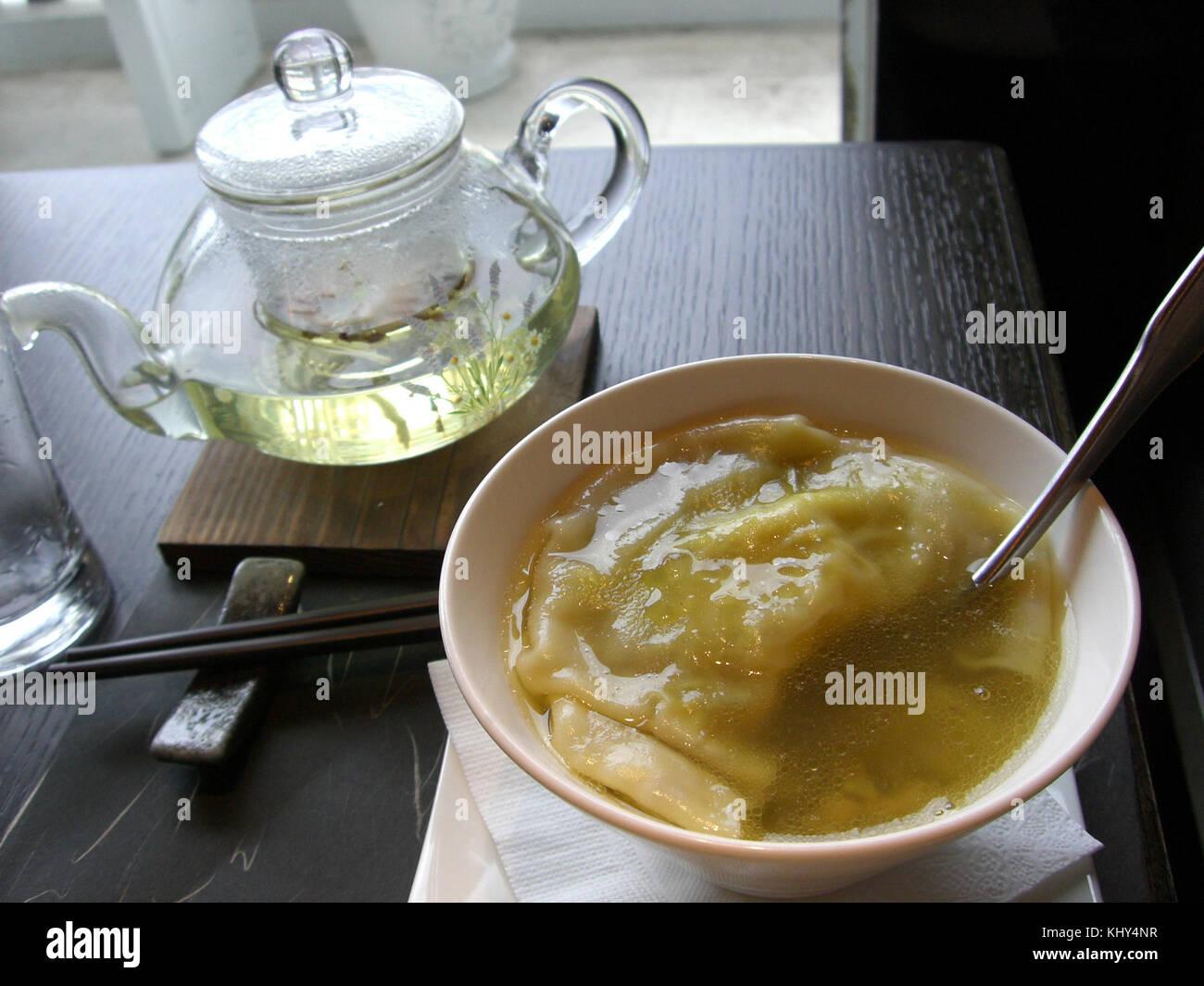NPM Shark Fin Soup - Stock Image