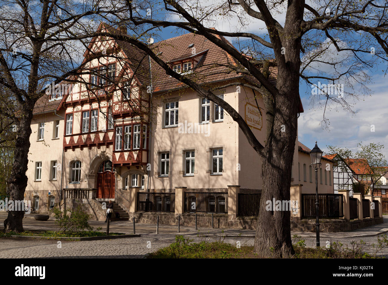 Welterbestadt Quedlinburg Harz - Stock Image