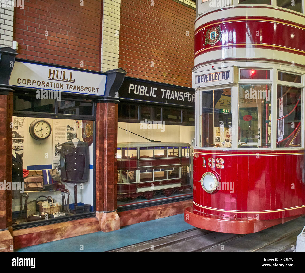 England, East Riding of Yorkshire, Kingston upon Hull city, The Museums Quarter,  Streetlife Transport Museum - Stock Image