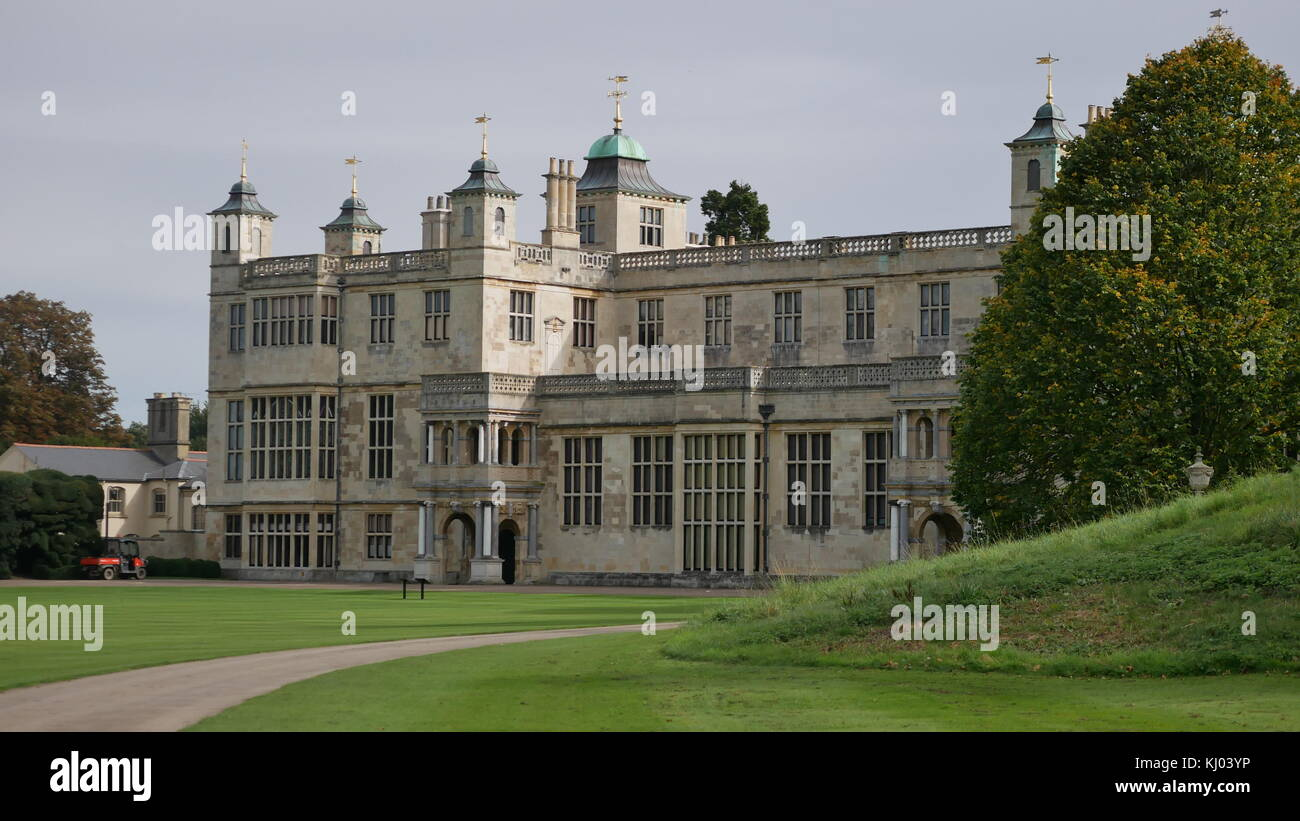 English Country House - Stock Image