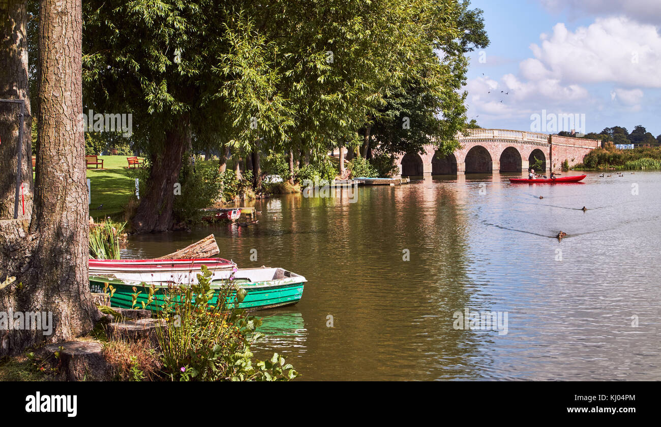 England, East Riding of Yorkshire, Skirlaugh area, Burton Constable Hall, large Elizabethan country house in a park Stock Photo