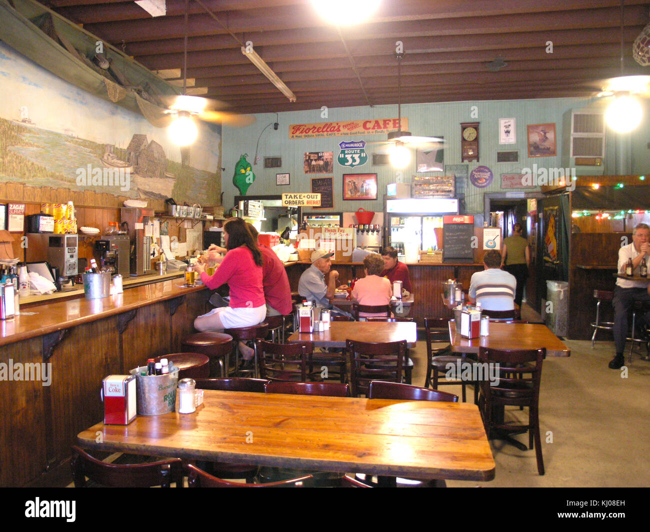 Soul Food Cafe In New Orleans Stock Photo 165963801 Alamy