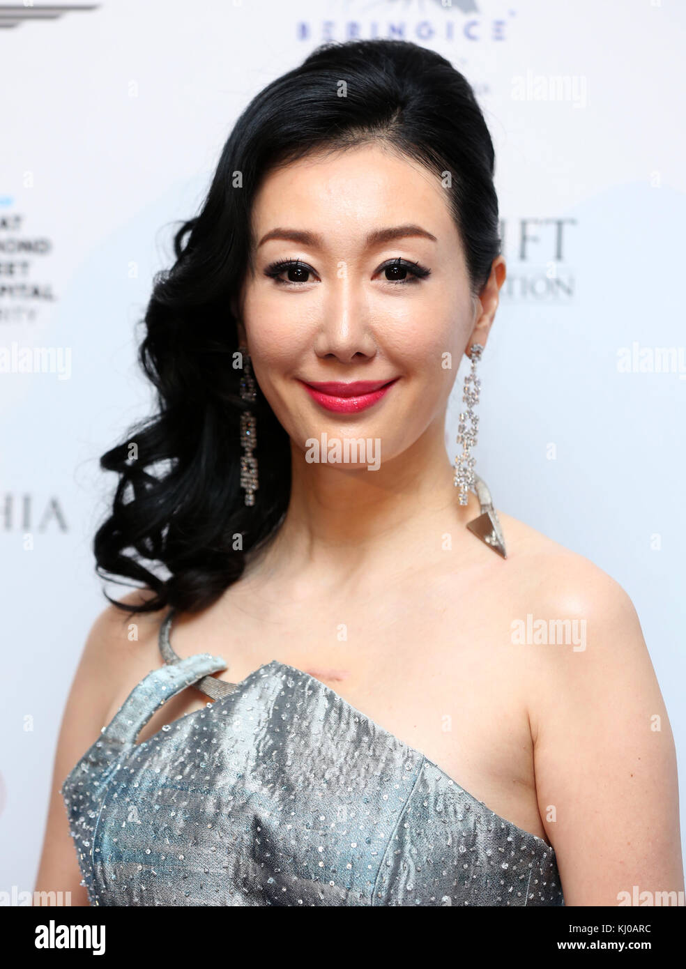 Seia Lee attending the Global Gift Gala held at The Corinthia Hotel in London. PRESS ASSOCIATION Photo. Picture - Stock Image
