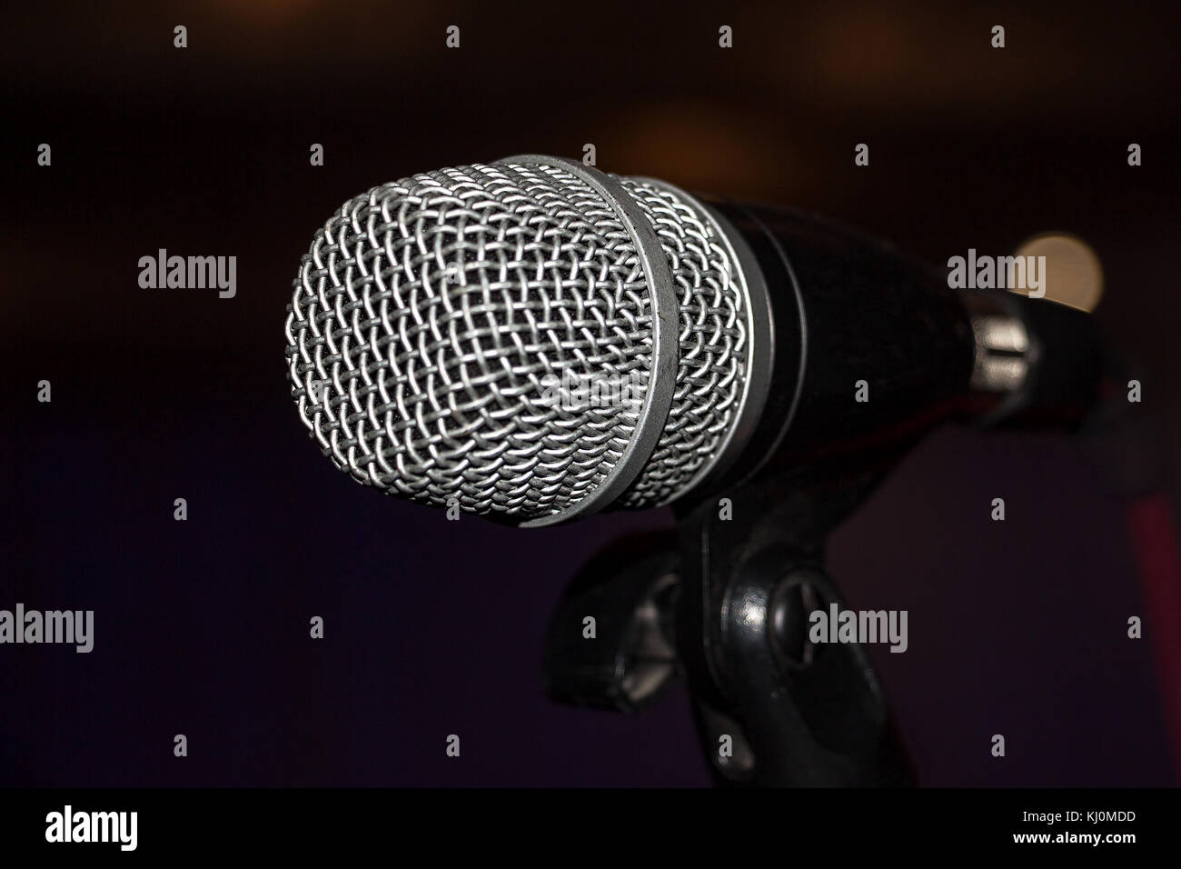 Karaoke Sing Music Record Dark Stock Photos & Karaoke Sing Music