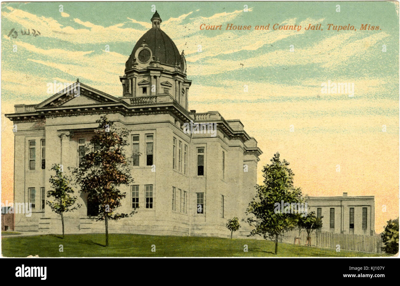 Lee County Courthouse - Stock Image