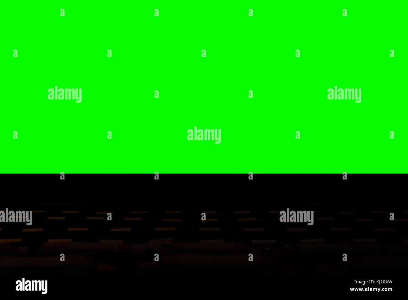 Cinema Theater With Seat In Front Of Screen In Hotel Watching Movie Stock Photo 165979377 Alamy