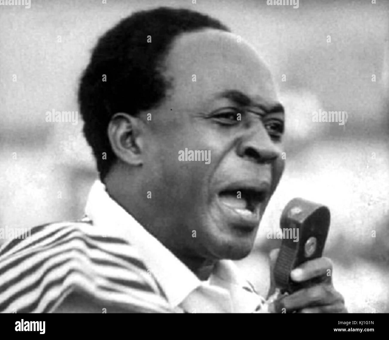 Kwame Nkrumah PC (1909 – 1972) led Ghana to independence from Britain in 1957 and served as its first prime minister - Stock Image