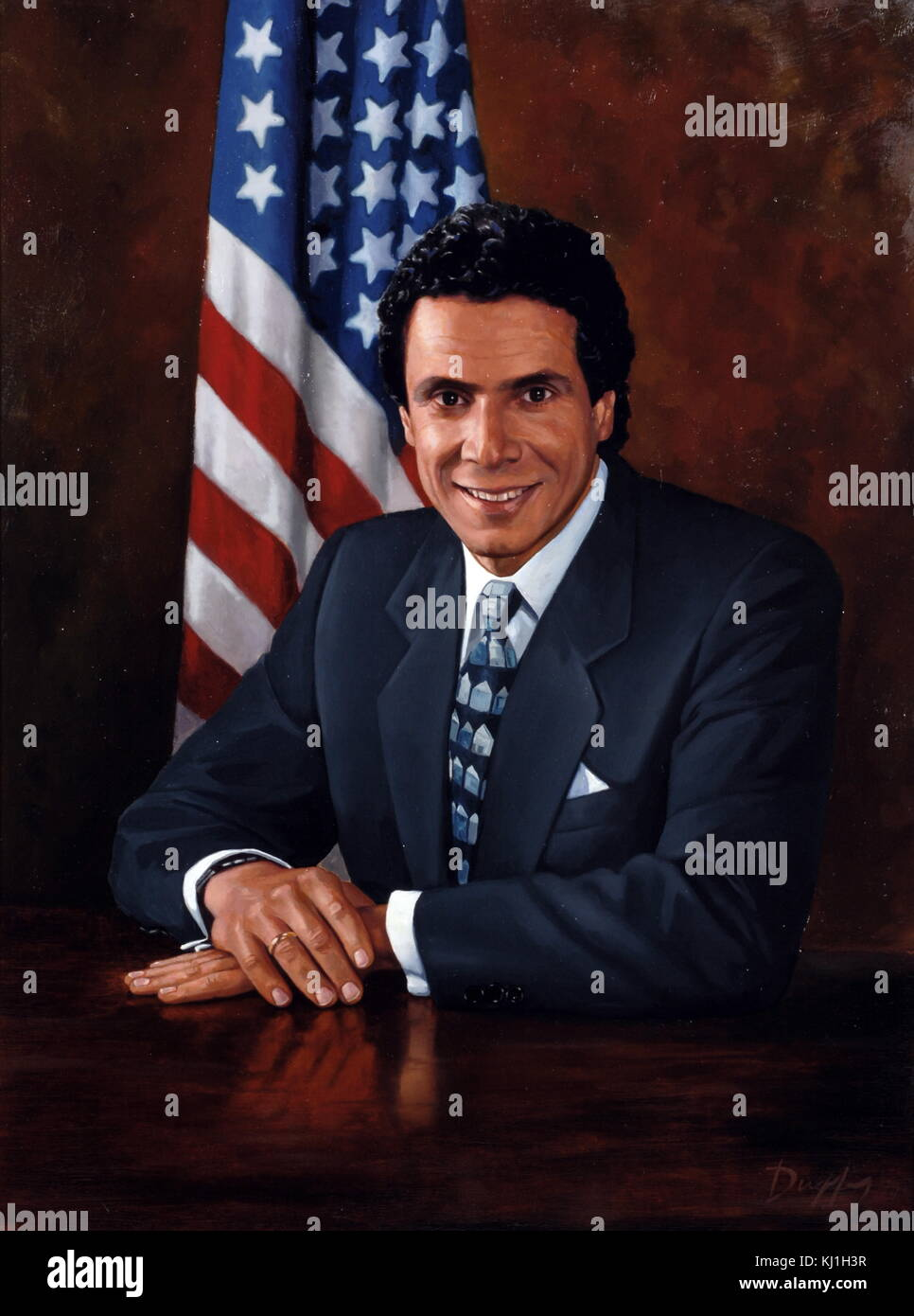 Andrew Cuomo, Assistant Secretary for Community Planning and Development in 1993, a member of President Bill Clinton's - Stock Image