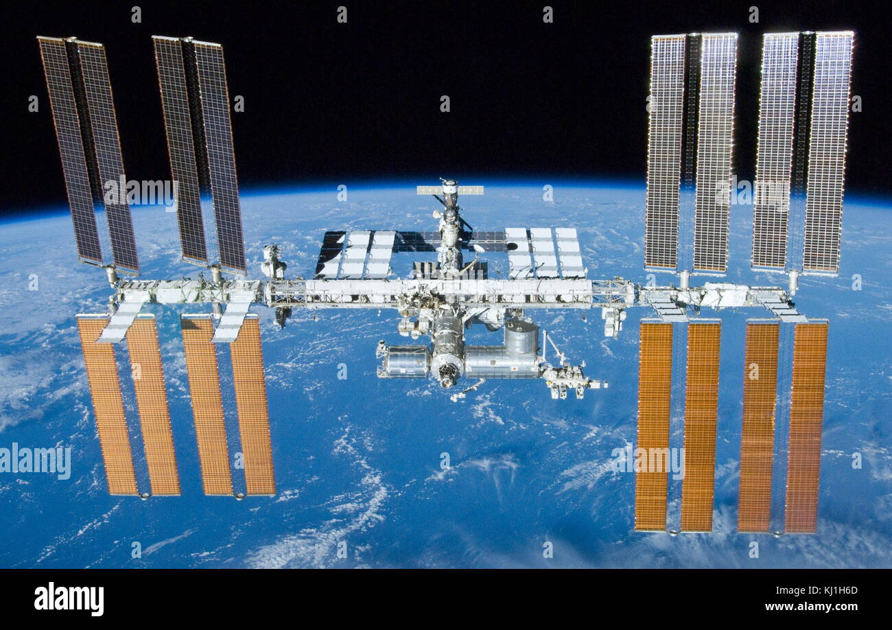 International Space Station Astronauts Stock Photos ...