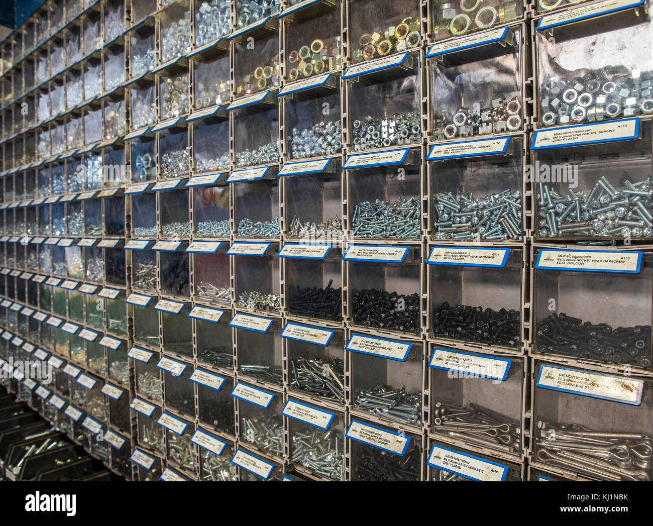 Parts Bin, Parts Storage, Nuts, Bolts and Washers - Etches