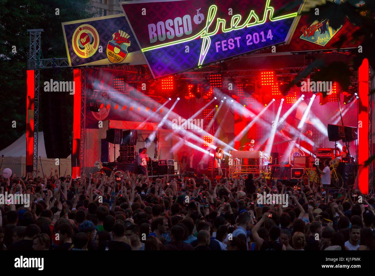 Bosco Fresh Festival - Stock Image
