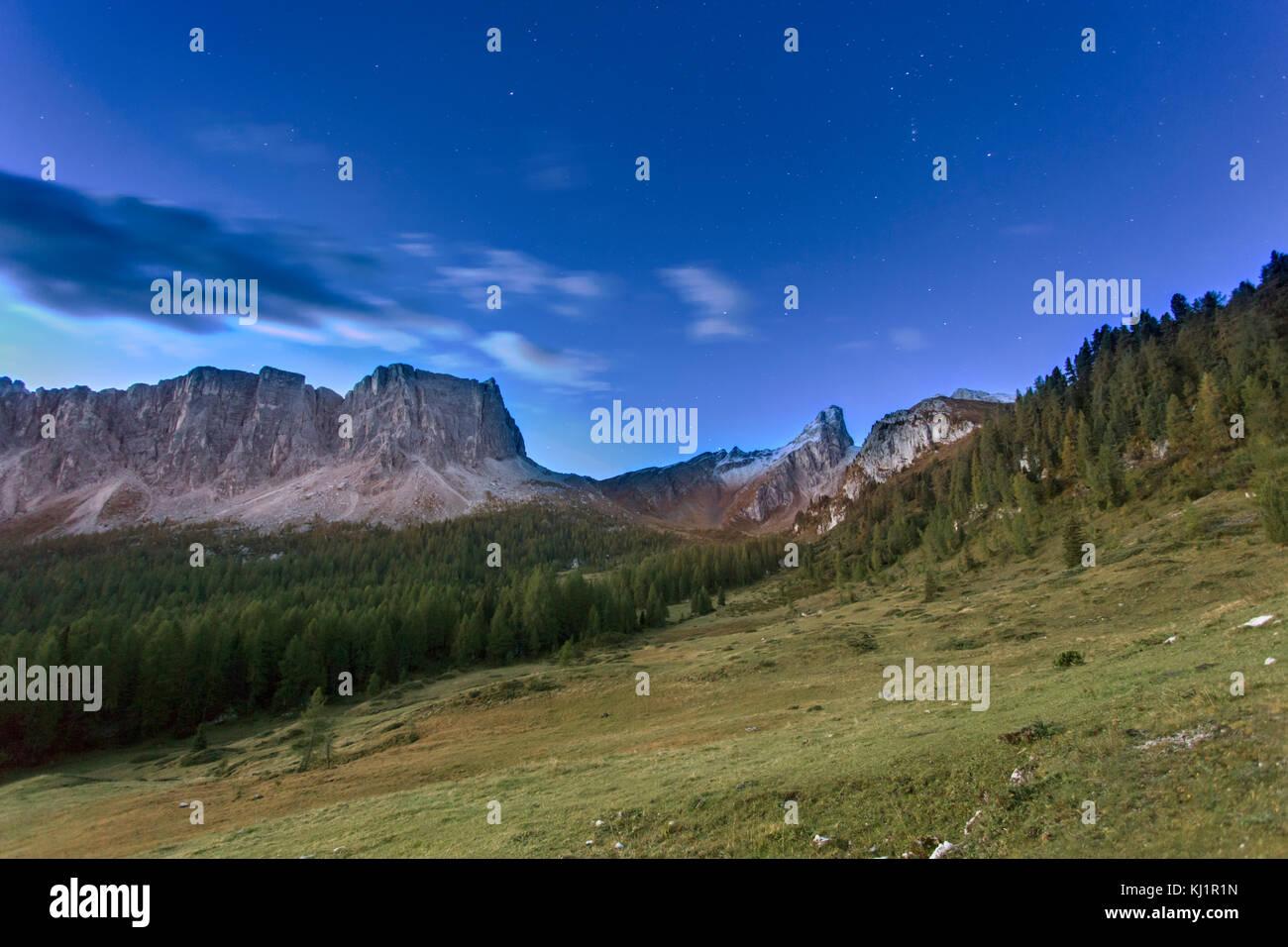 Italian Dolomites - Dolomiti Italiano Stock Photo