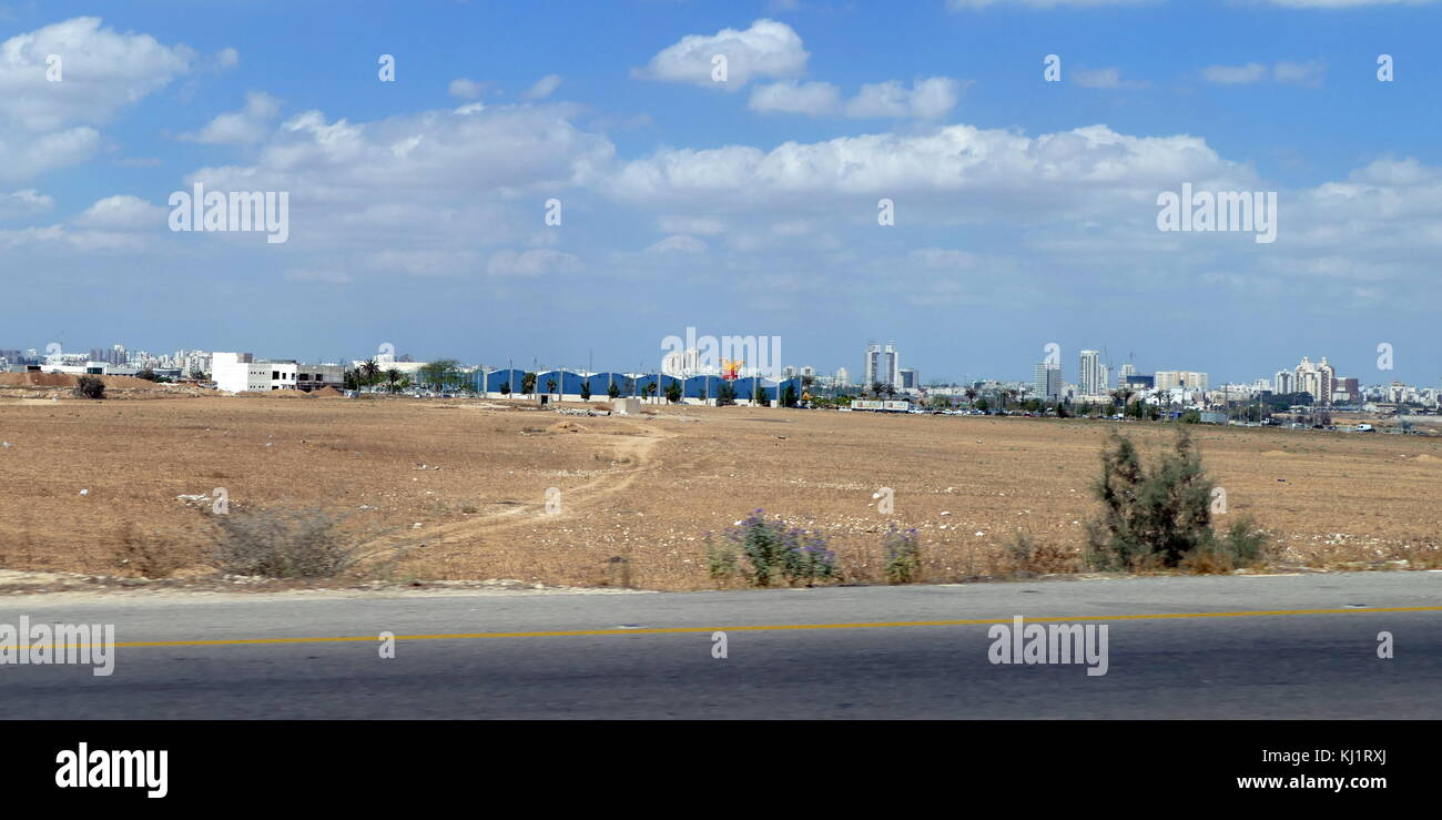 Beer-Sheva; the largest city in the Negev desert of southern Israel. Often referred to as the 'Capital of the - Stock Image