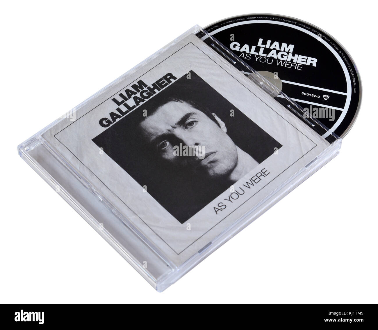 Liam Gallagher album As You Were - Stock Image