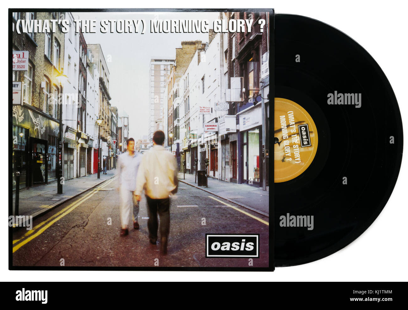 Whats' the Story Morning Glory album by Oasis - Stock Image