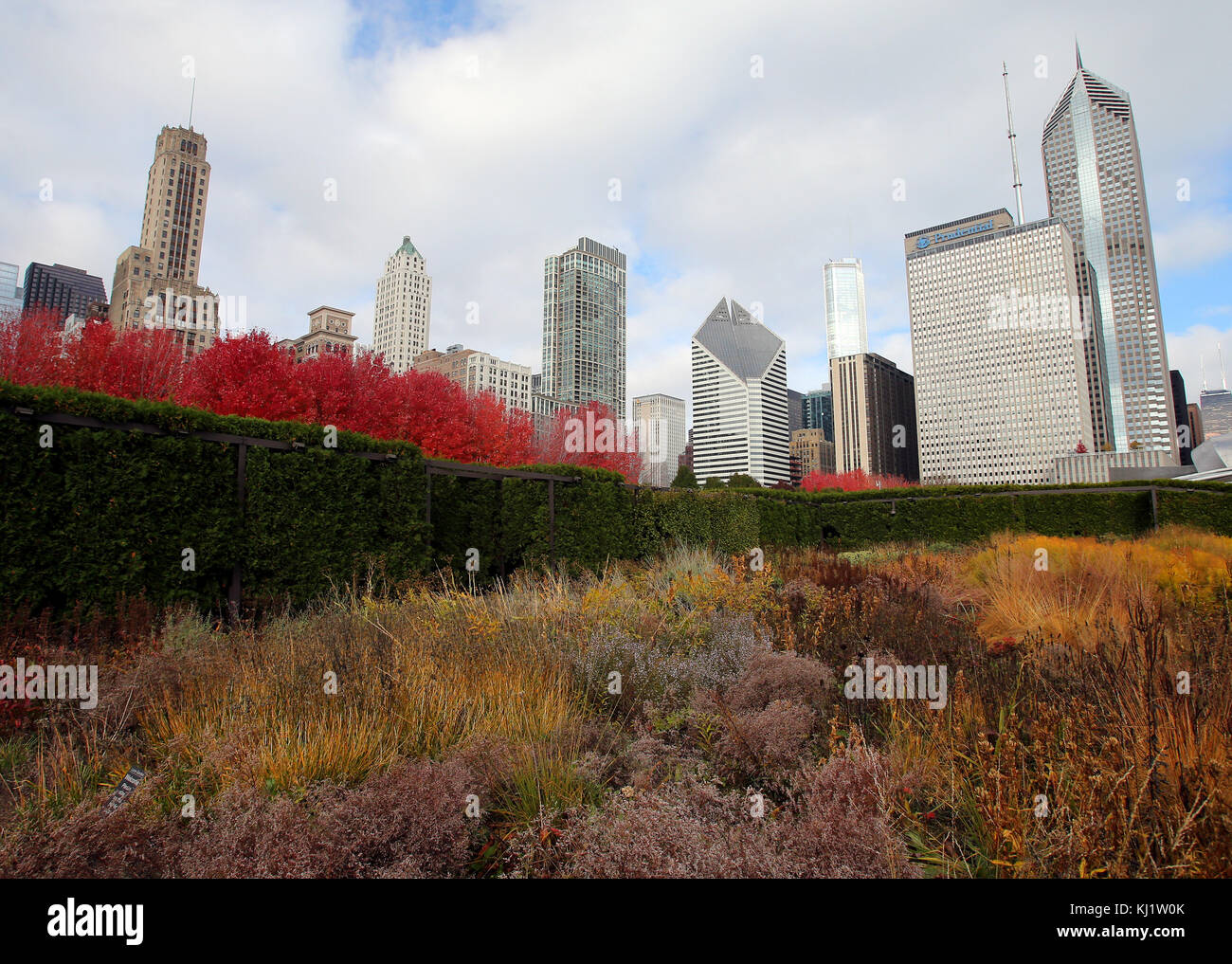 Chicago Lurie Garden Stock Photos & Chicago Lurie Garden Stock ...