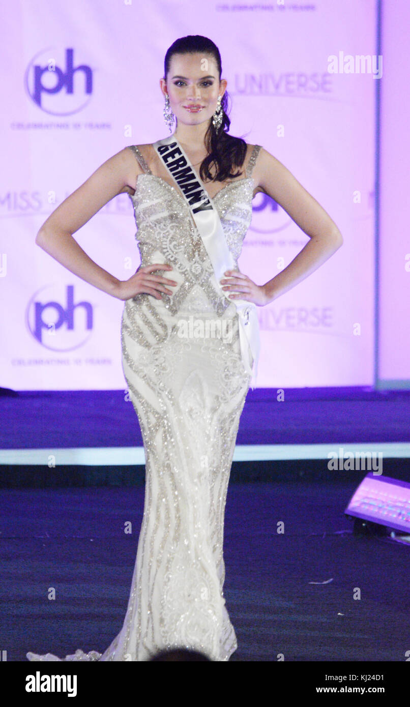 Las Vegas, Nevada, USA. 21st Nov, 2017. Miss Universe Germany Sophia ...
