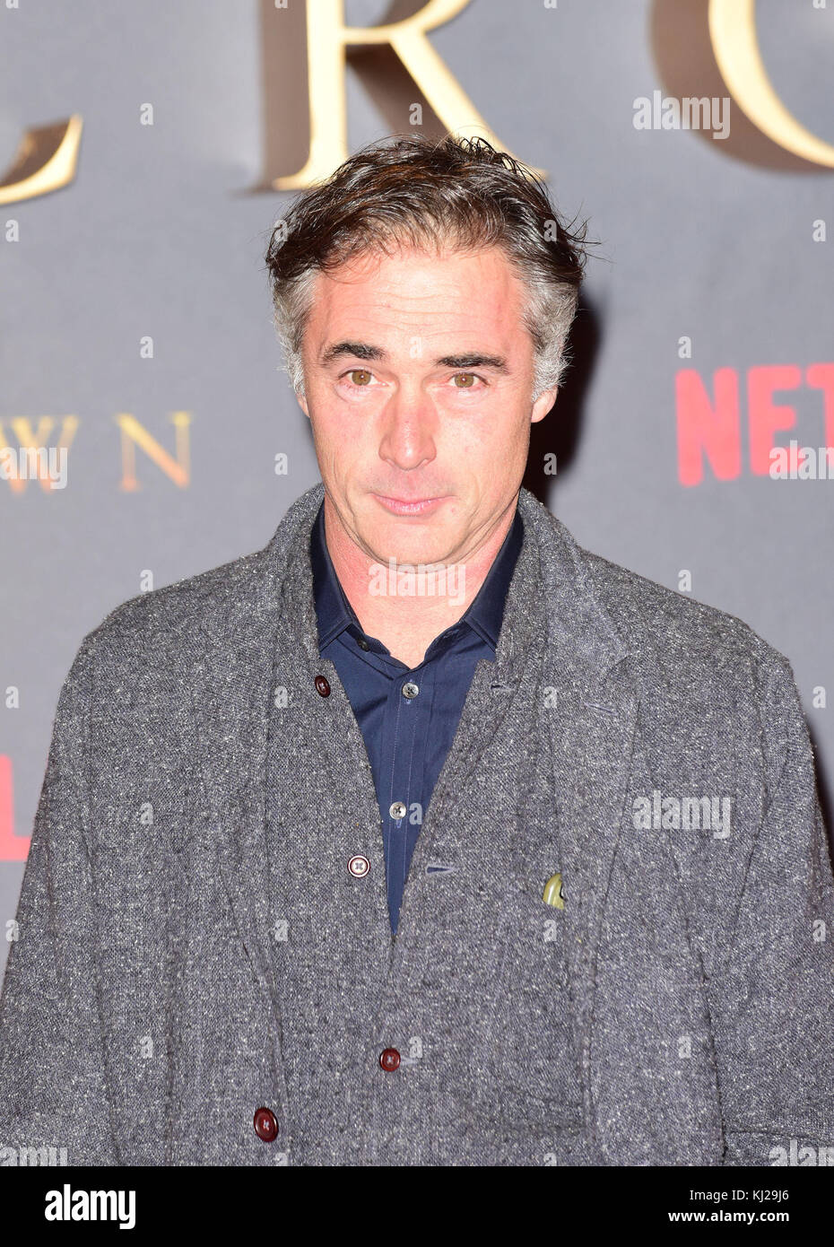 London, UK. 21st Nov, 2017. Greg Wise (Lord Mountbatten ) attending The World Premiere of The CROWN at the Odeon Leicester Square London Tuesday 21st November 2017 Credit: Peter Phillips/Alamy Live News Stock Photo