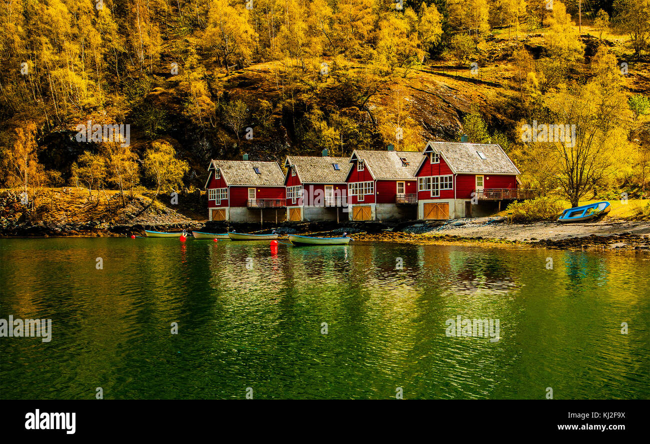 Norway one the must amazing place in Europa . - Stock Image