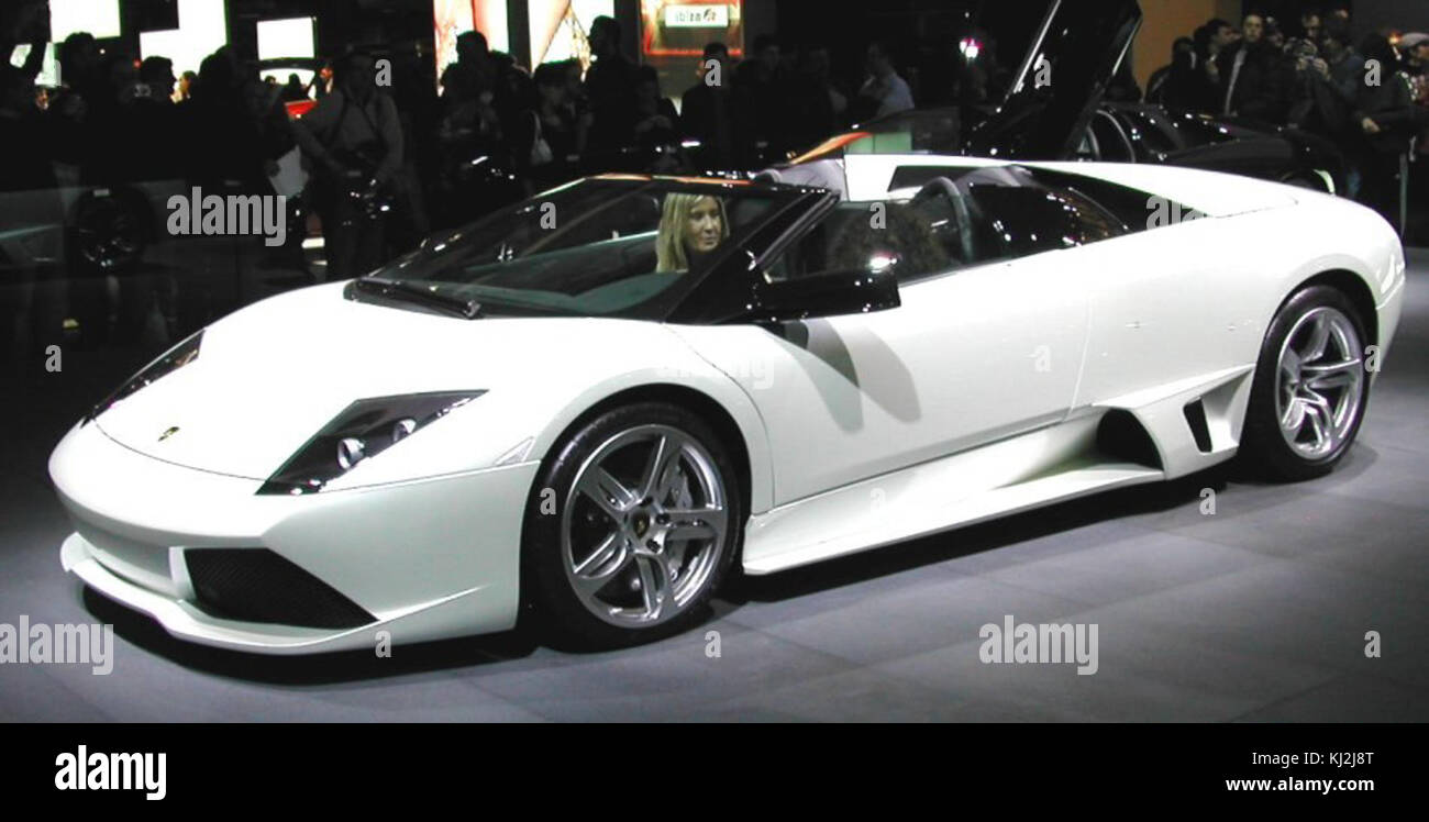 Lamborghini Murcielago Lp640 Roadster Stock Photo 166015384 Alamy