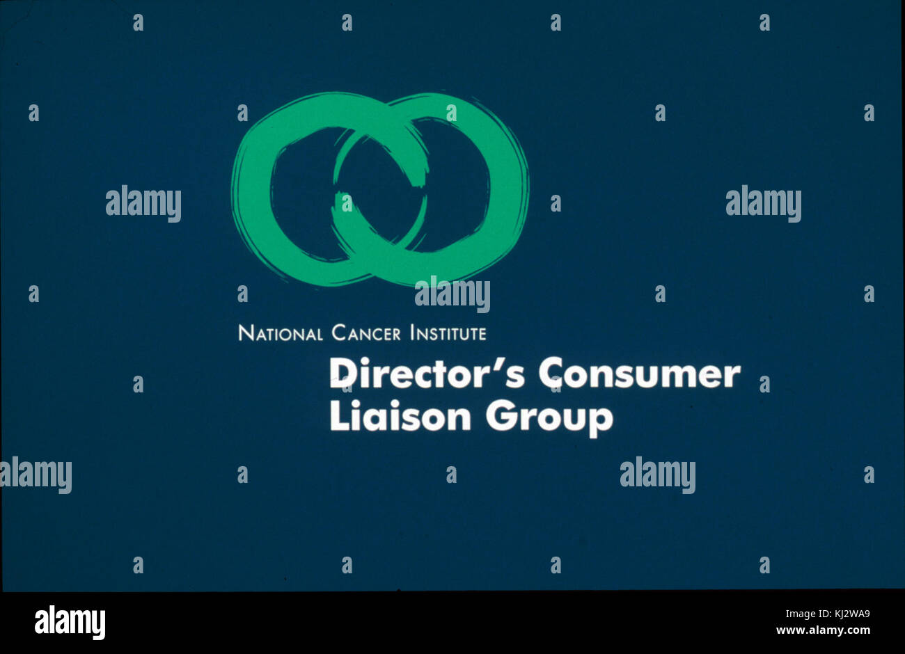Director's consumer liaison group (dclg) logo - Stock Image