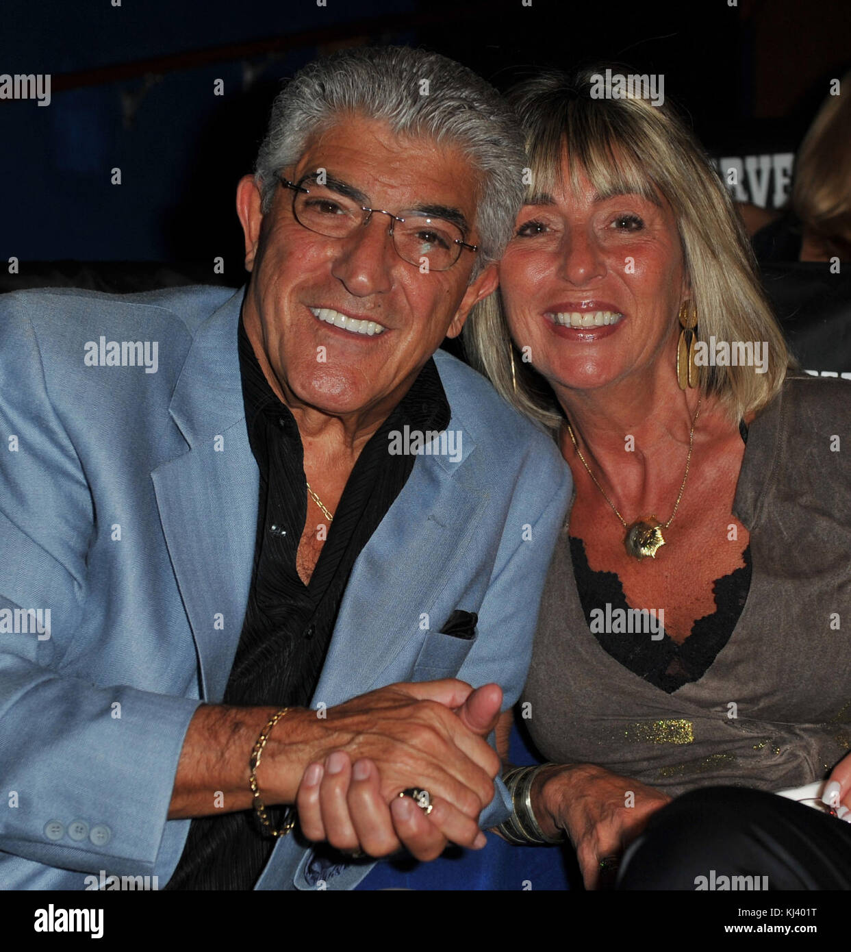 FORT LAUDERDALE, FL - JANUARY 08: Frank Vincent arrives at the screening of Genus On Hold at Cinema Paradiso.  GENIUS - Stock Image