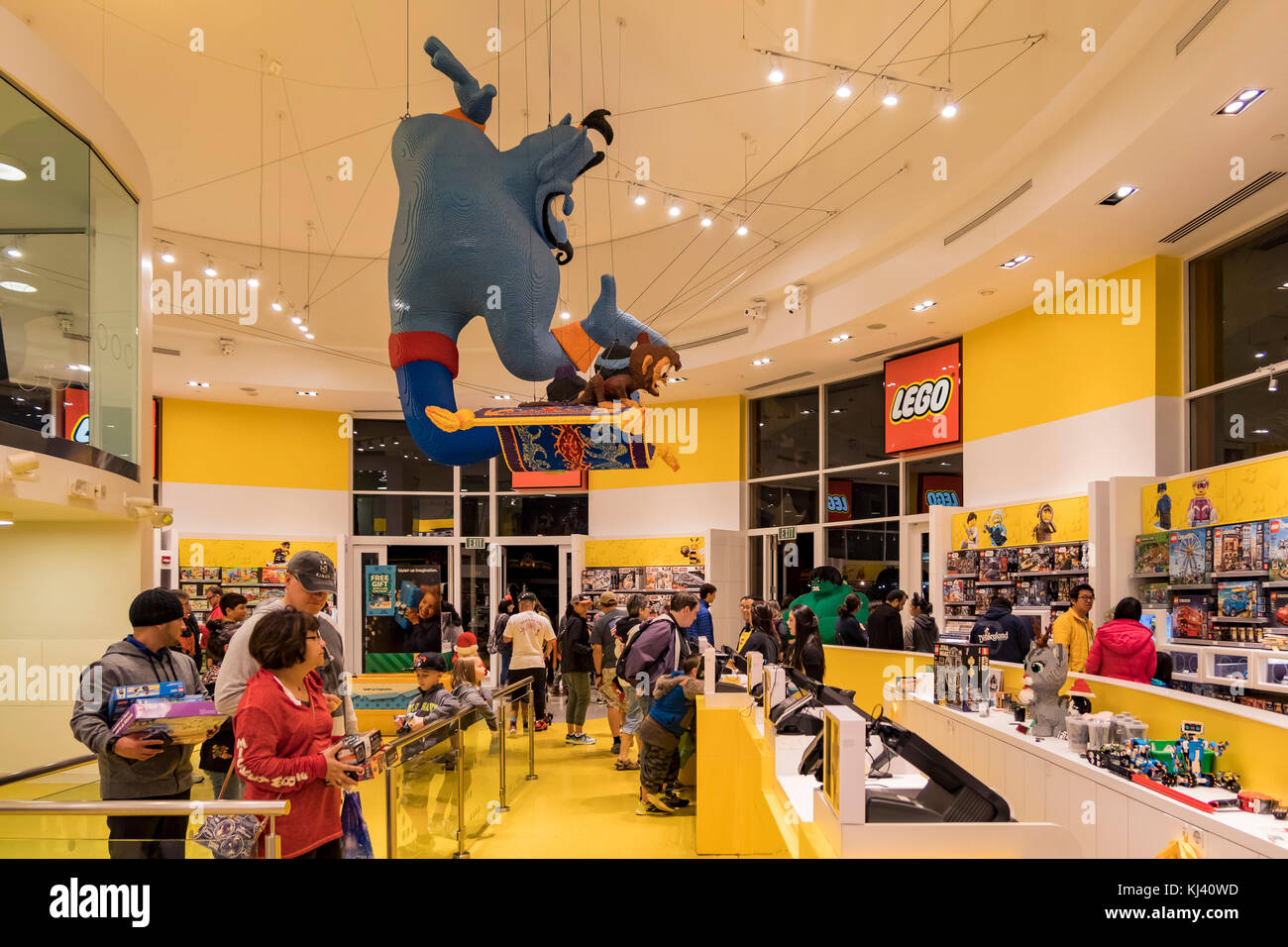 Anaheim Nov 11 Lego Store In The Famous Downtown Disney