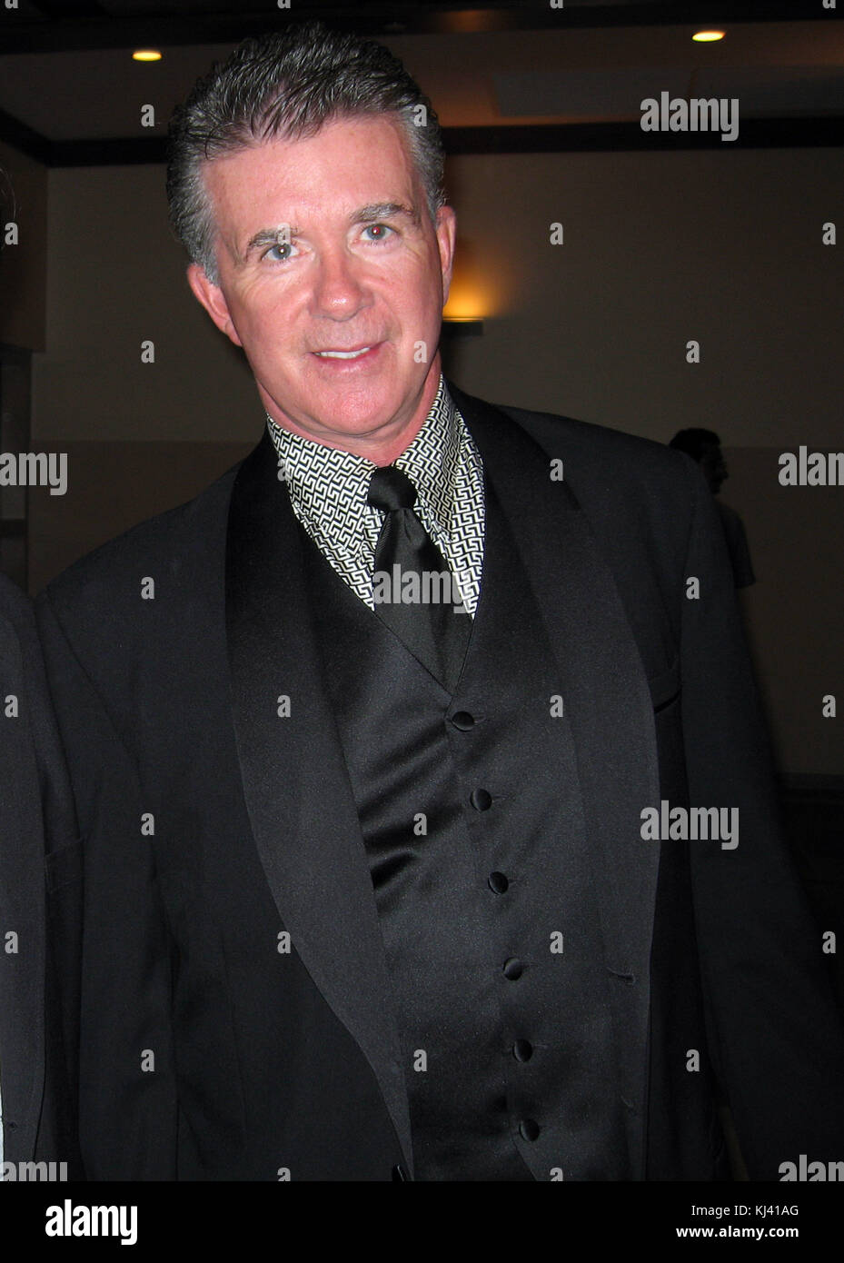 Boca Raton, FL - DECEMBER 03, 2005 : Alan Thicke at the Boca Resort.  People; Alan Thicke   Must call if interested - Stock Image