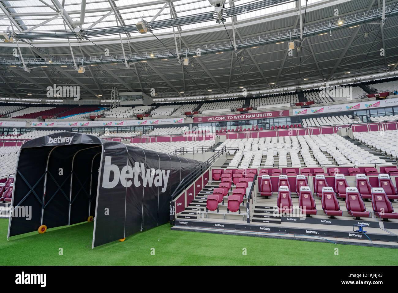 The London Stadium Home Of West Ham United And Uk Athletics Stock Photo Alamy