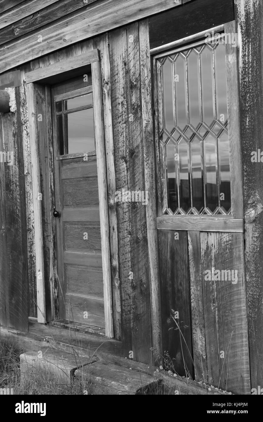 Door and Window - Stock Image