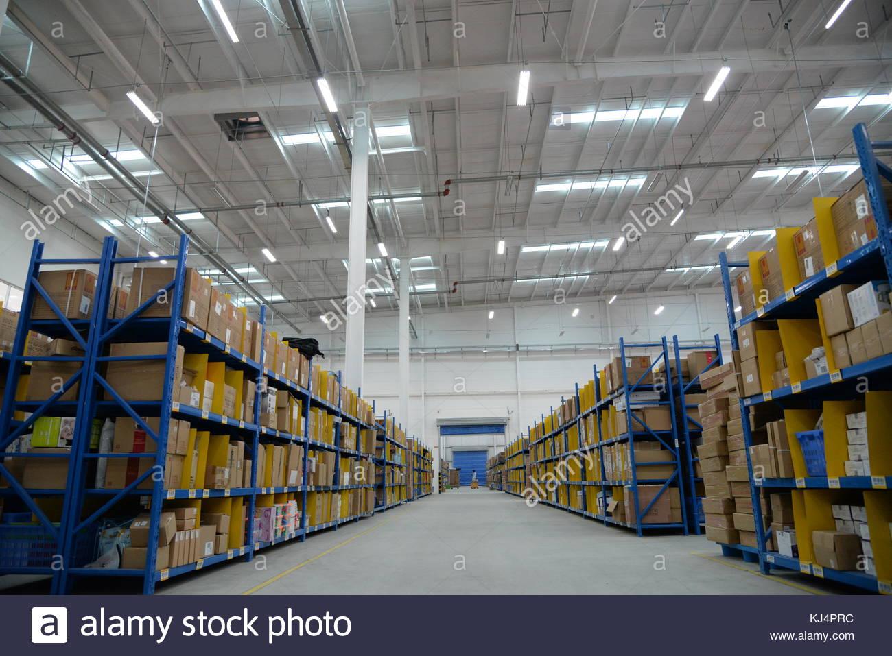 Logistics warehouse - Stock Image