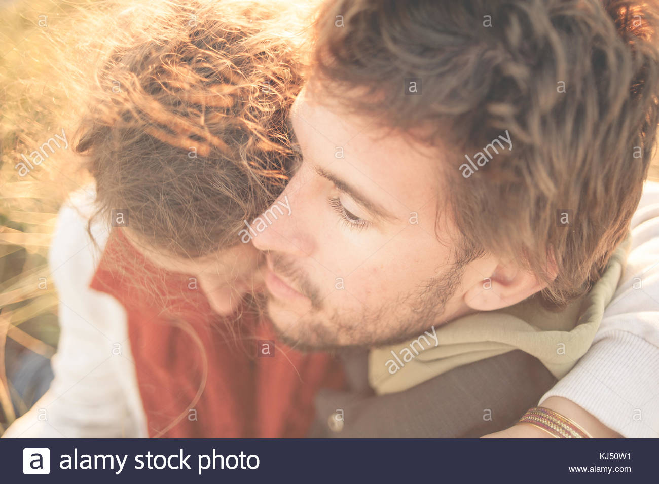Young couple - Stock Image