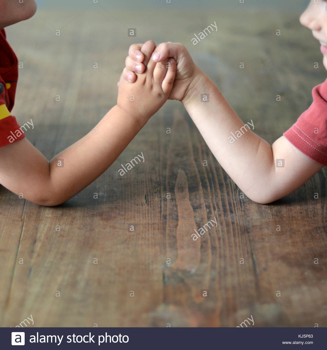 Arm wrestling - Stock Image