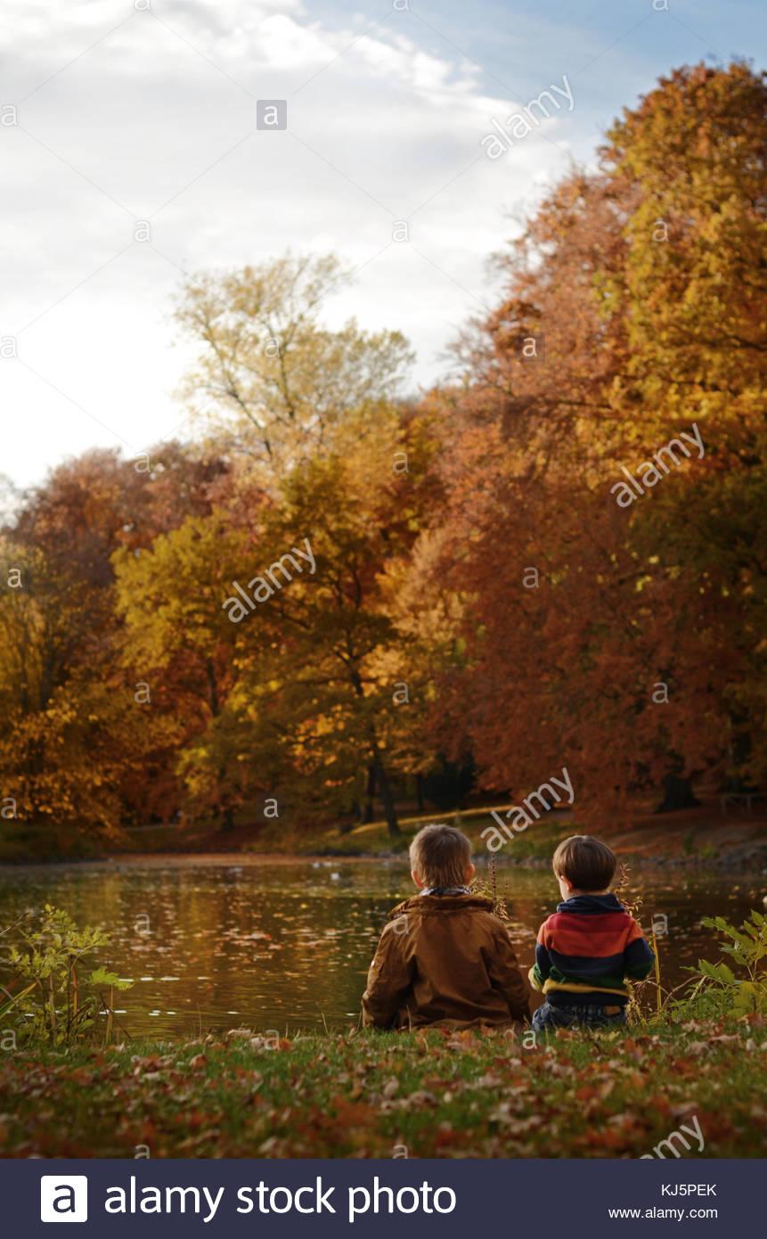 Autumn landscape - Stock Image