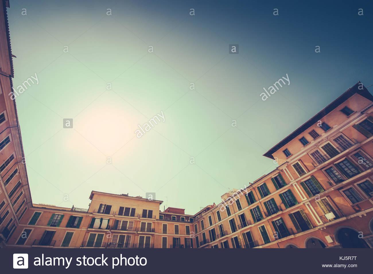 residential housing - Stock Image