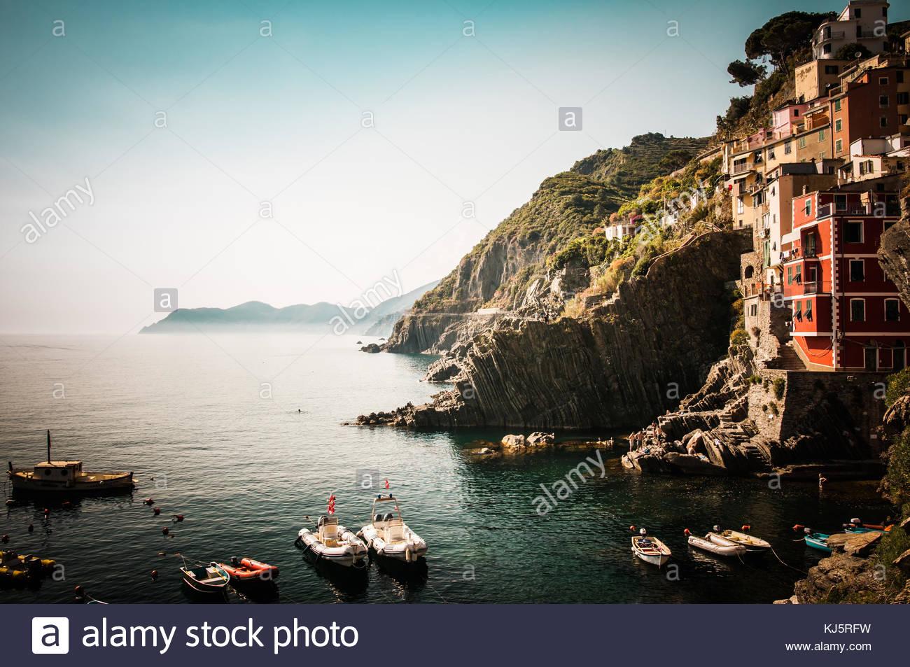 Cinque Terre, Italy - Stock Image