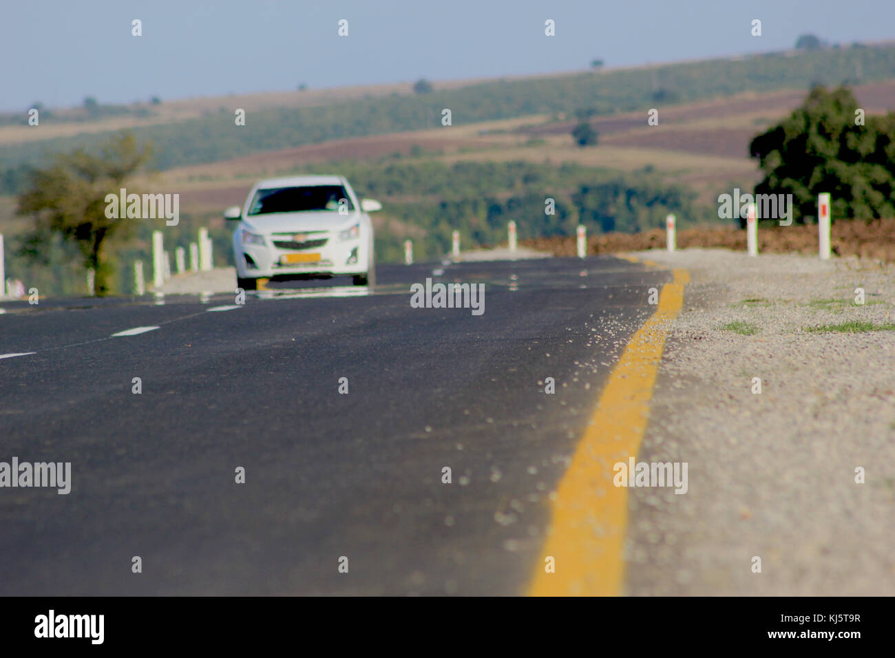 Ivanovka village in Azerbaijan - Stock Image