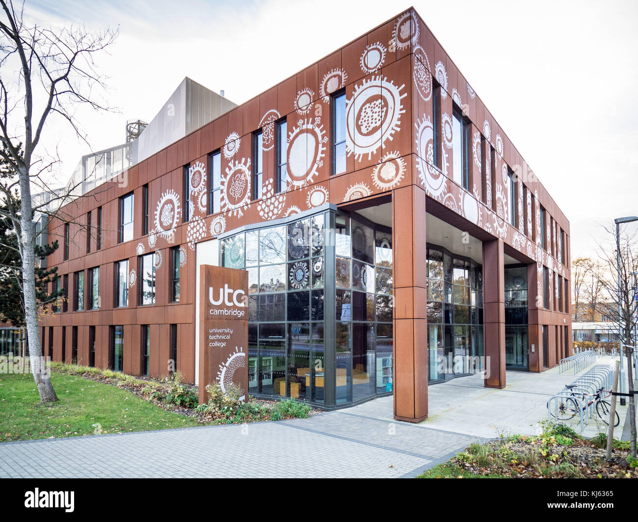Cambridge Academy for Science and Technology is a University Technical College for 14-18 year olds, opened in 2014 - Stock Image