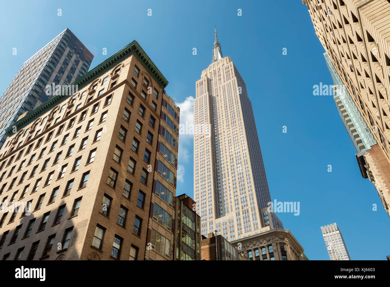 The Empire State Building in New York Stock Photo