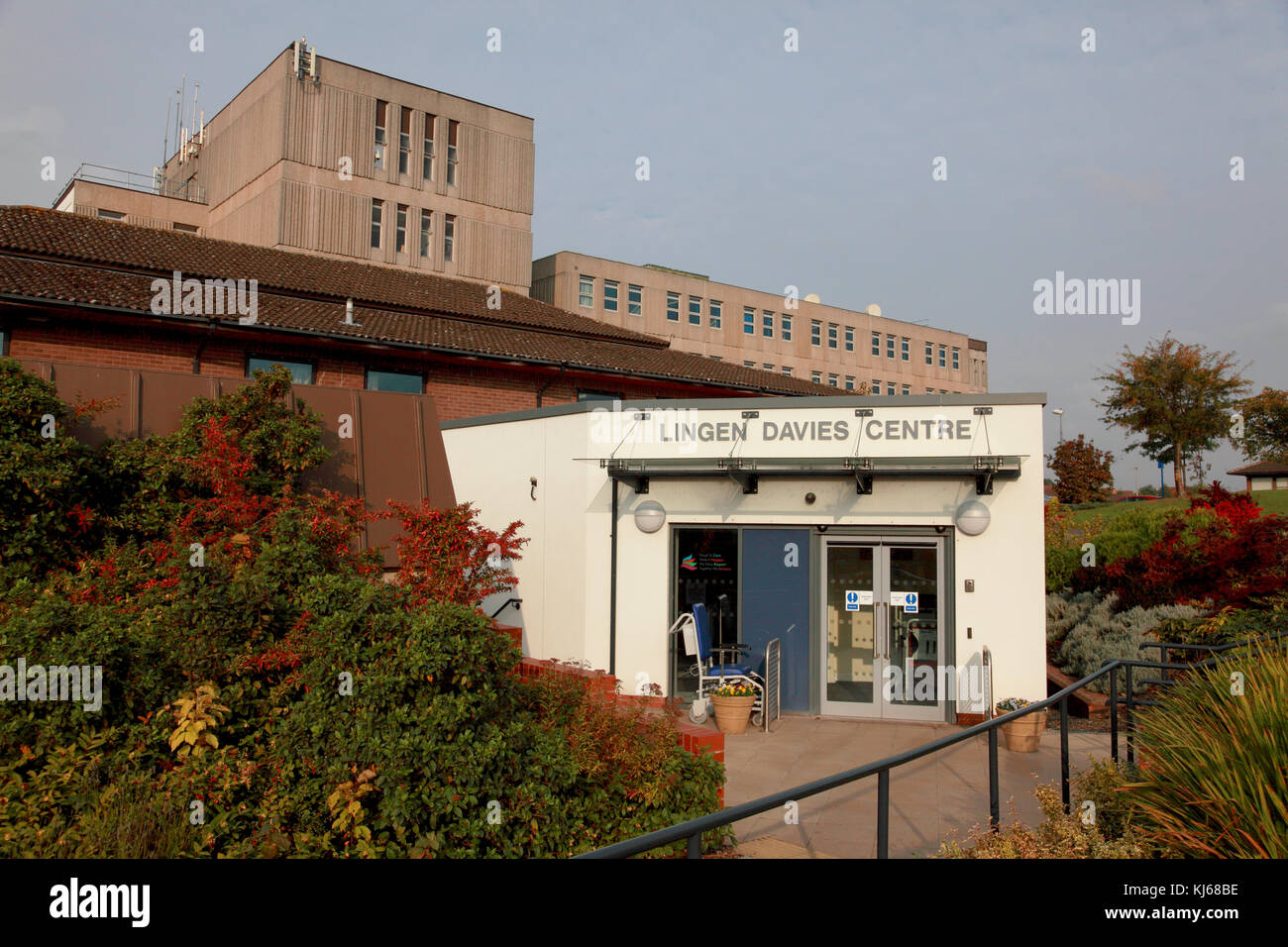 The Lingen Davies Cancer Centre at the NHS Royal Shrewsbury Hospital, a teaching hospital - Stock Image